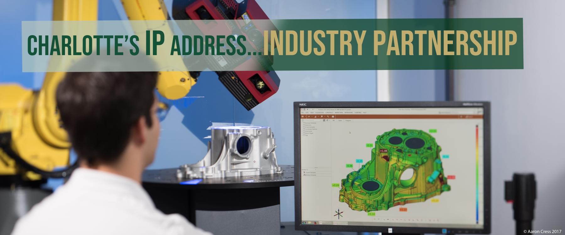 Charlotte's IP Address...Industry Partnership.